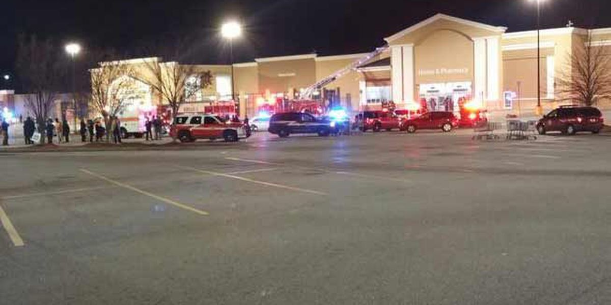 Investigators rule fire at Bush River Road Walmart as an arson