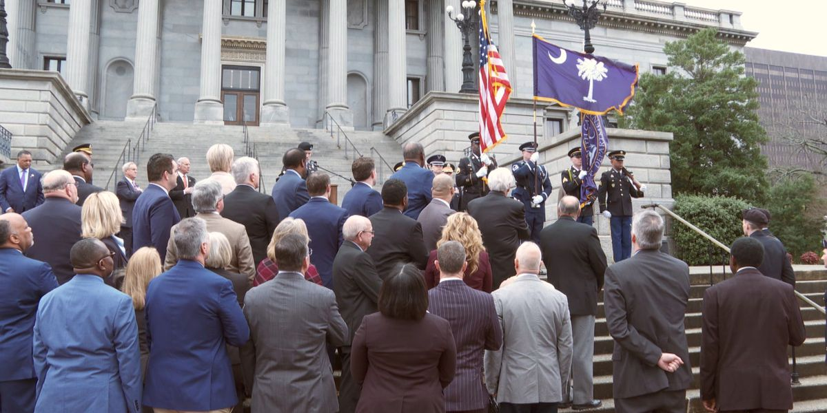 Many gather at State House for Military Department Recognition Day