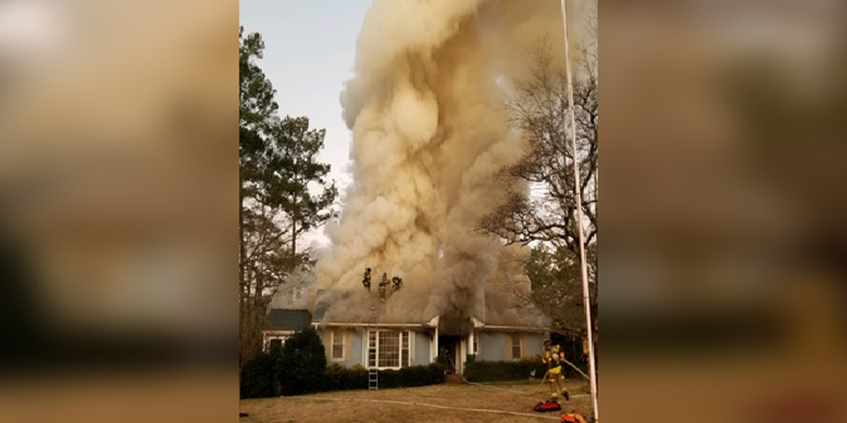 Space heater causes fire at home on North Trenholm Road