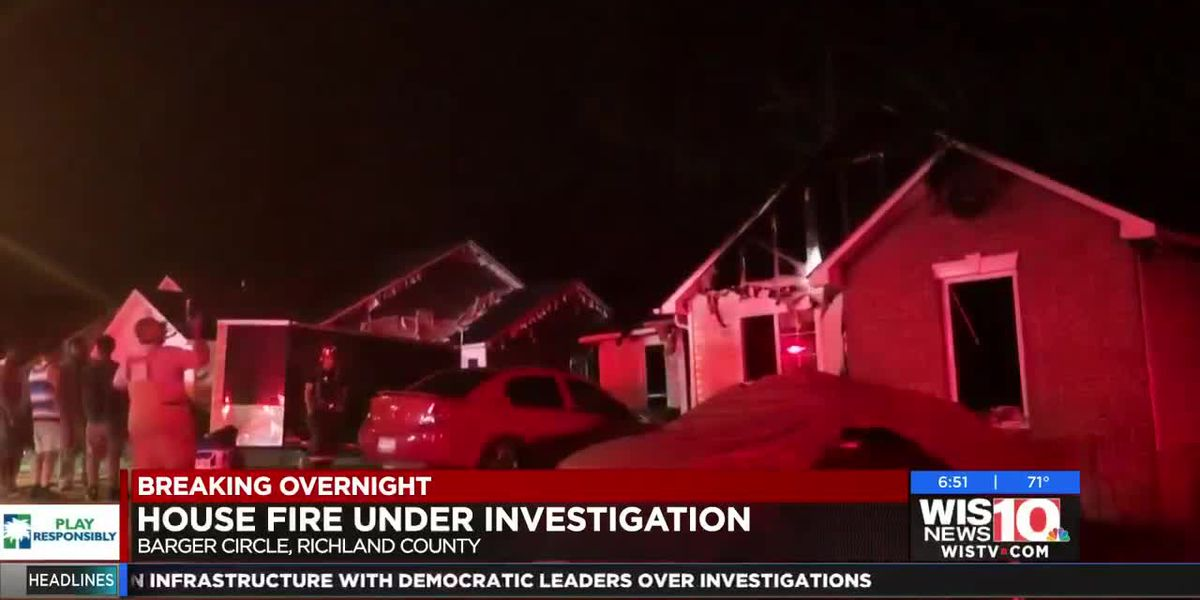 Late-night fire damages Irmo home