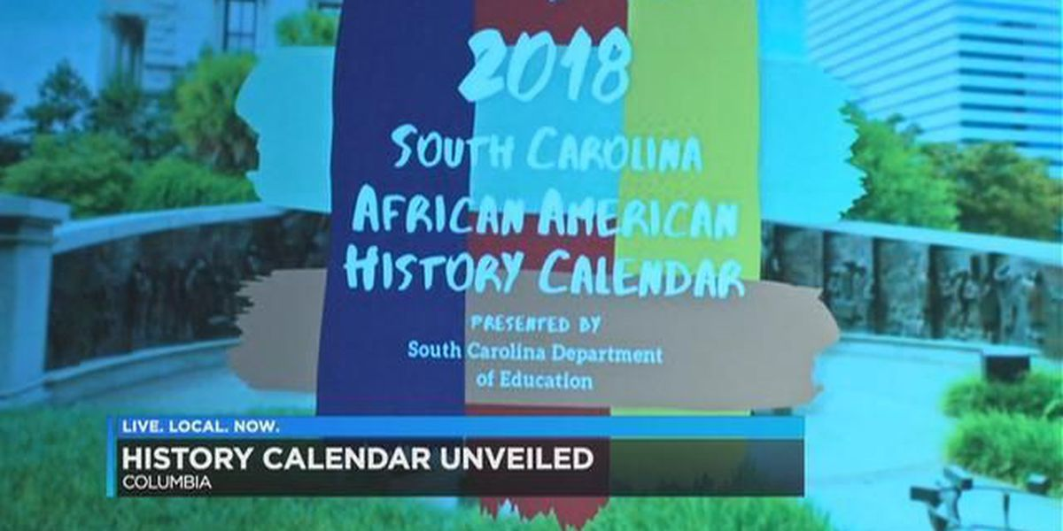 2018 SC African American history calendar unveiled