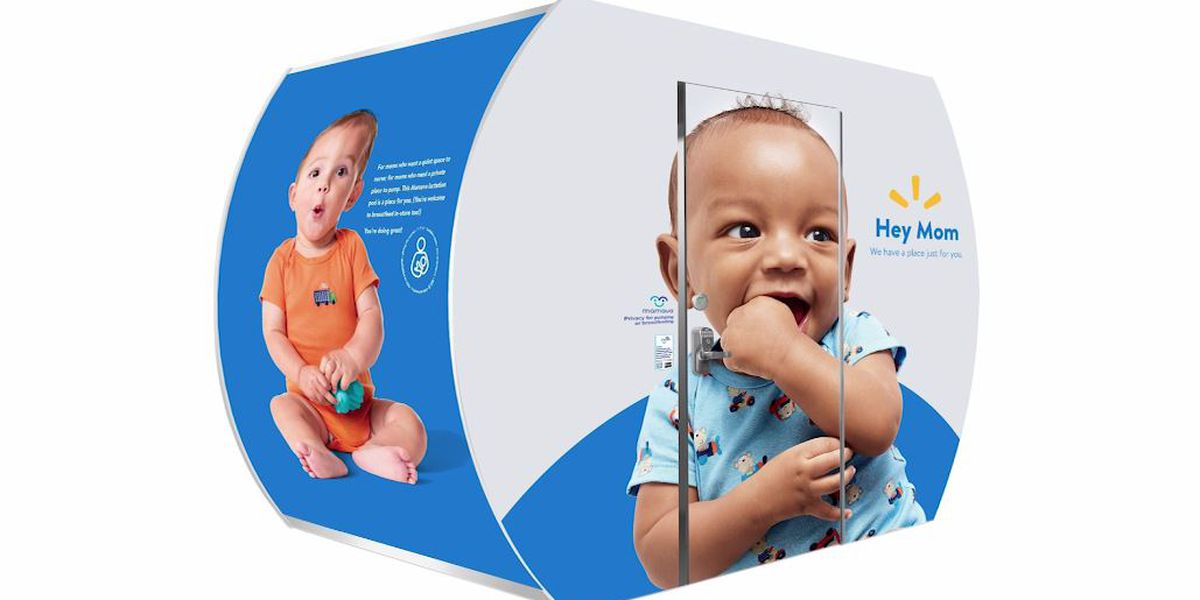 Walmart expands breastfeeding suites to more than 100 stores
