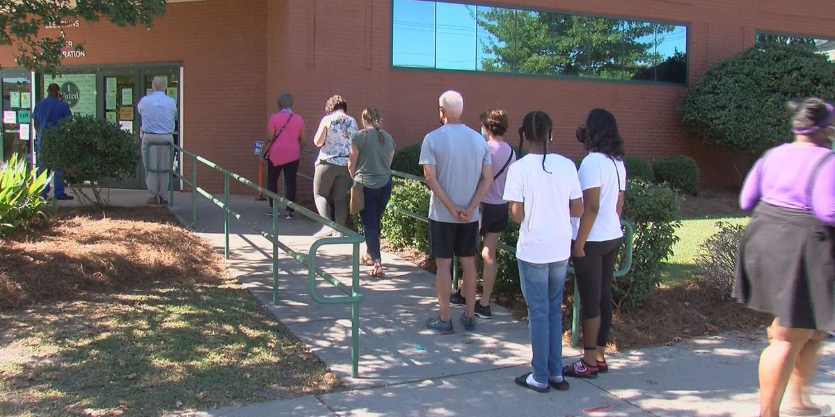 State election officials predict a record 1 million SC residents could vote before Election Day