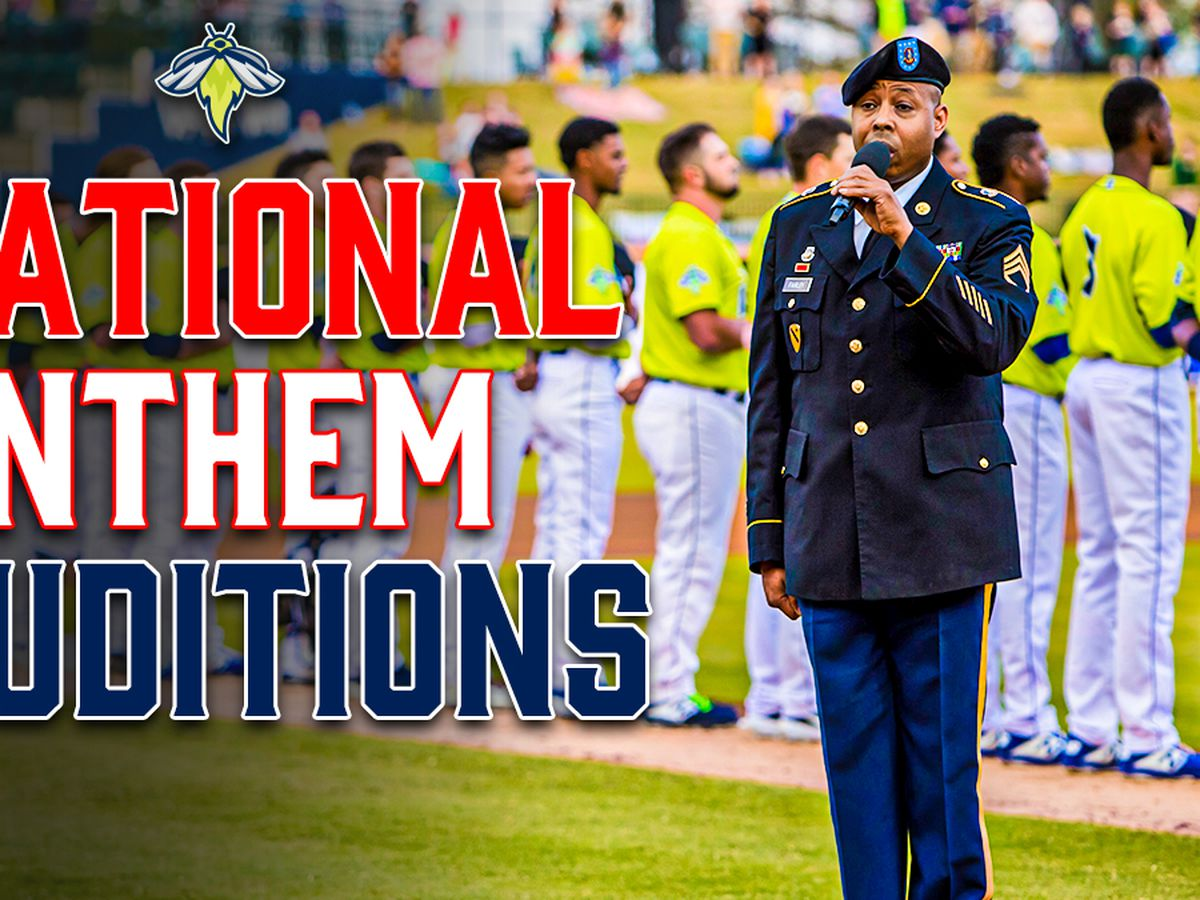 Columbia Fireflies searching for 2021 National Anthem performers