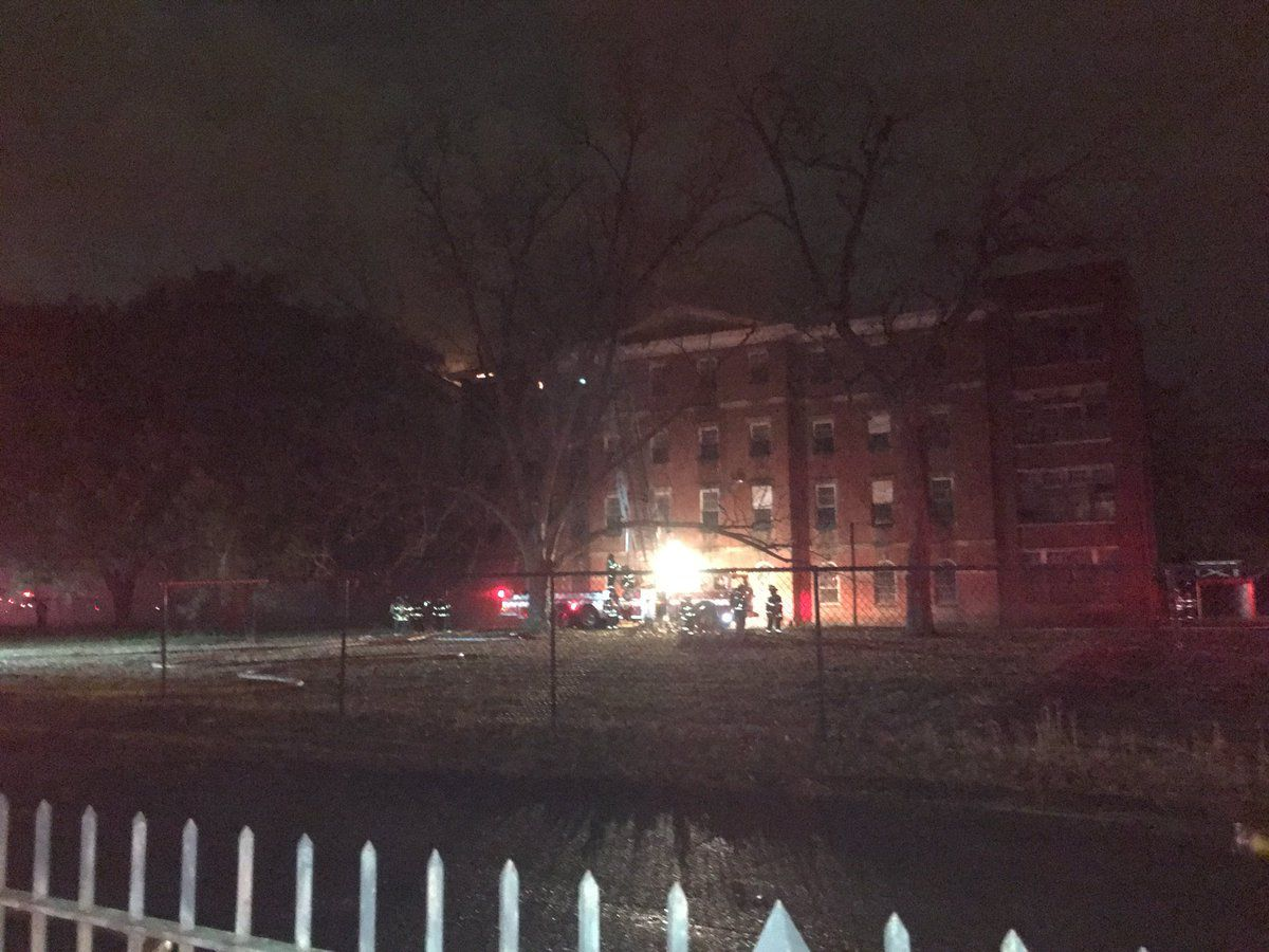 UPDATE: Columbia fire says blaze at condemned state mental health hospital under control