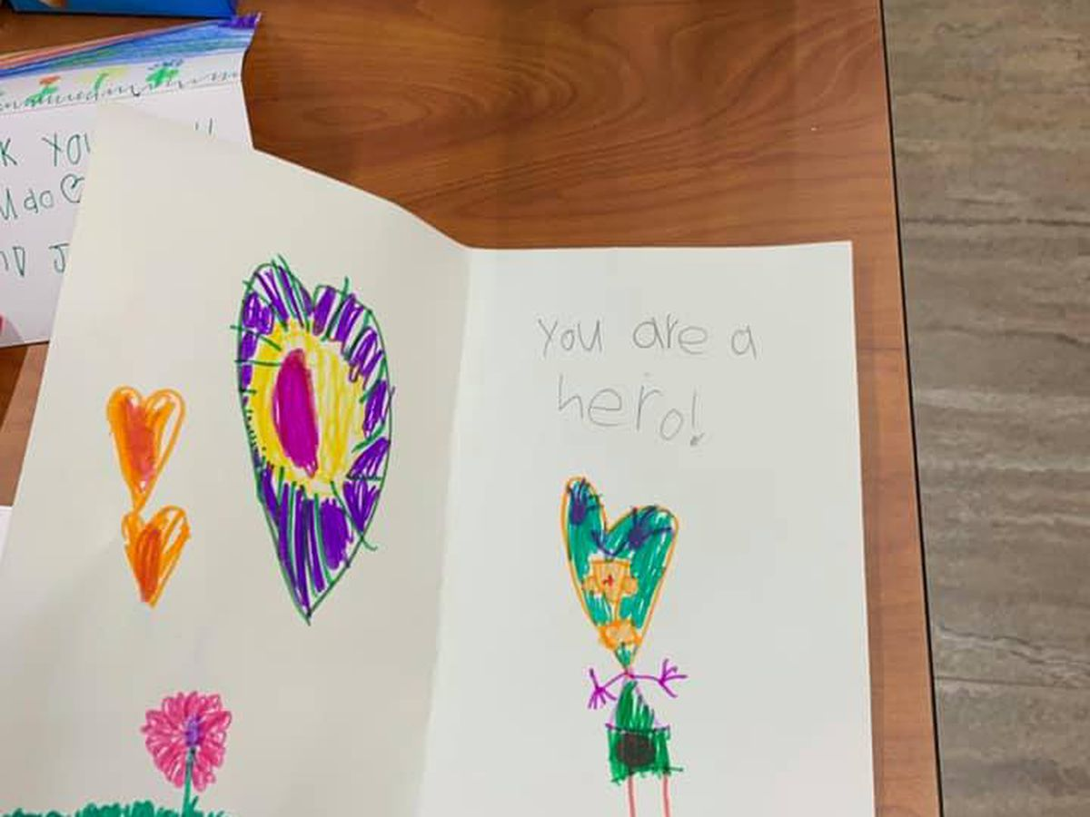 'You are our hero': Cards, care packages comfort MICU nurses at Prisma Health Richland