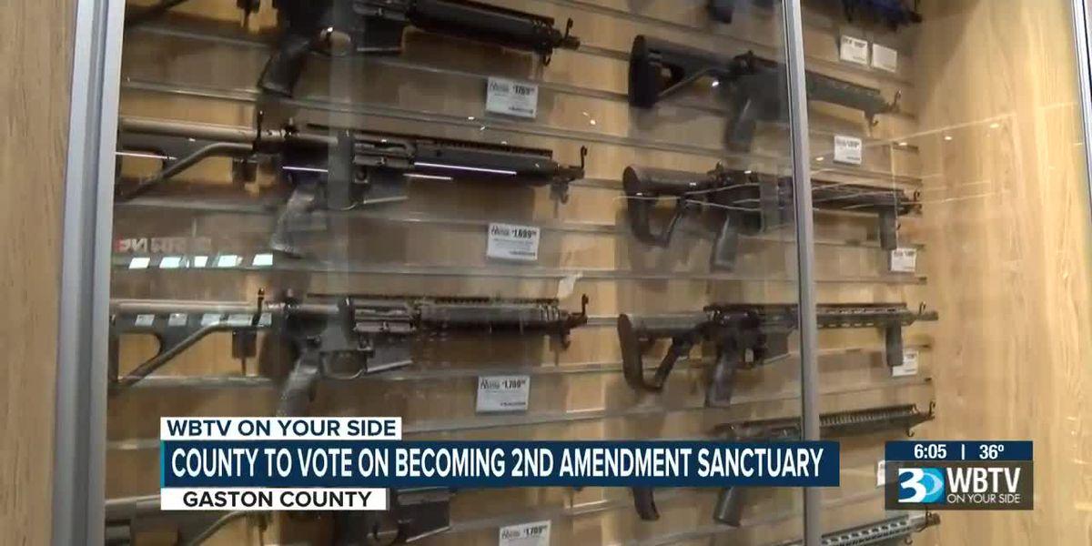 Gaston County passes resolution to become 'second amendment sanctuary'