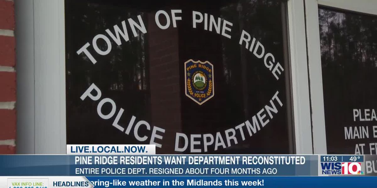 Four months later...Pine Ridge still doesn't have a police force