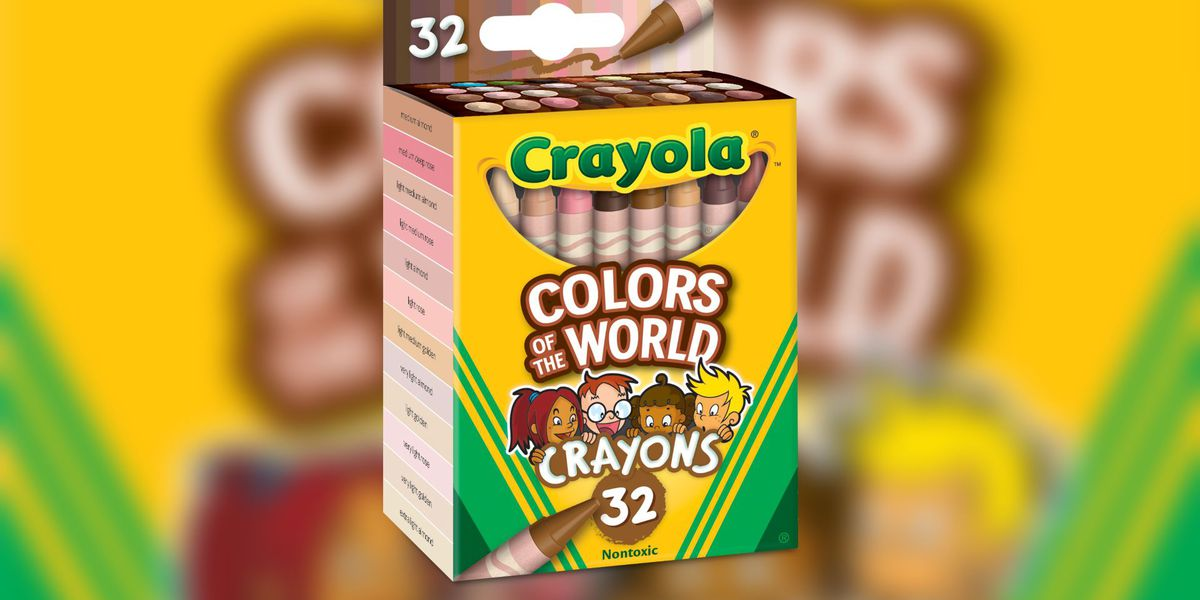 Crayola launches 'Colors of the World' crayons to include more skin tones