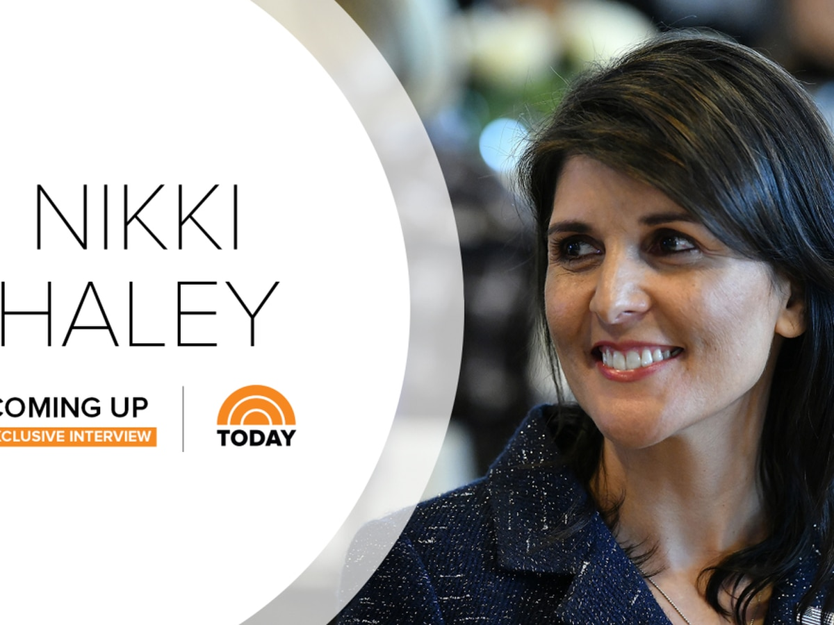 Nikki Haley sits down with Craig Melvin on Today Show for first interview since resignation