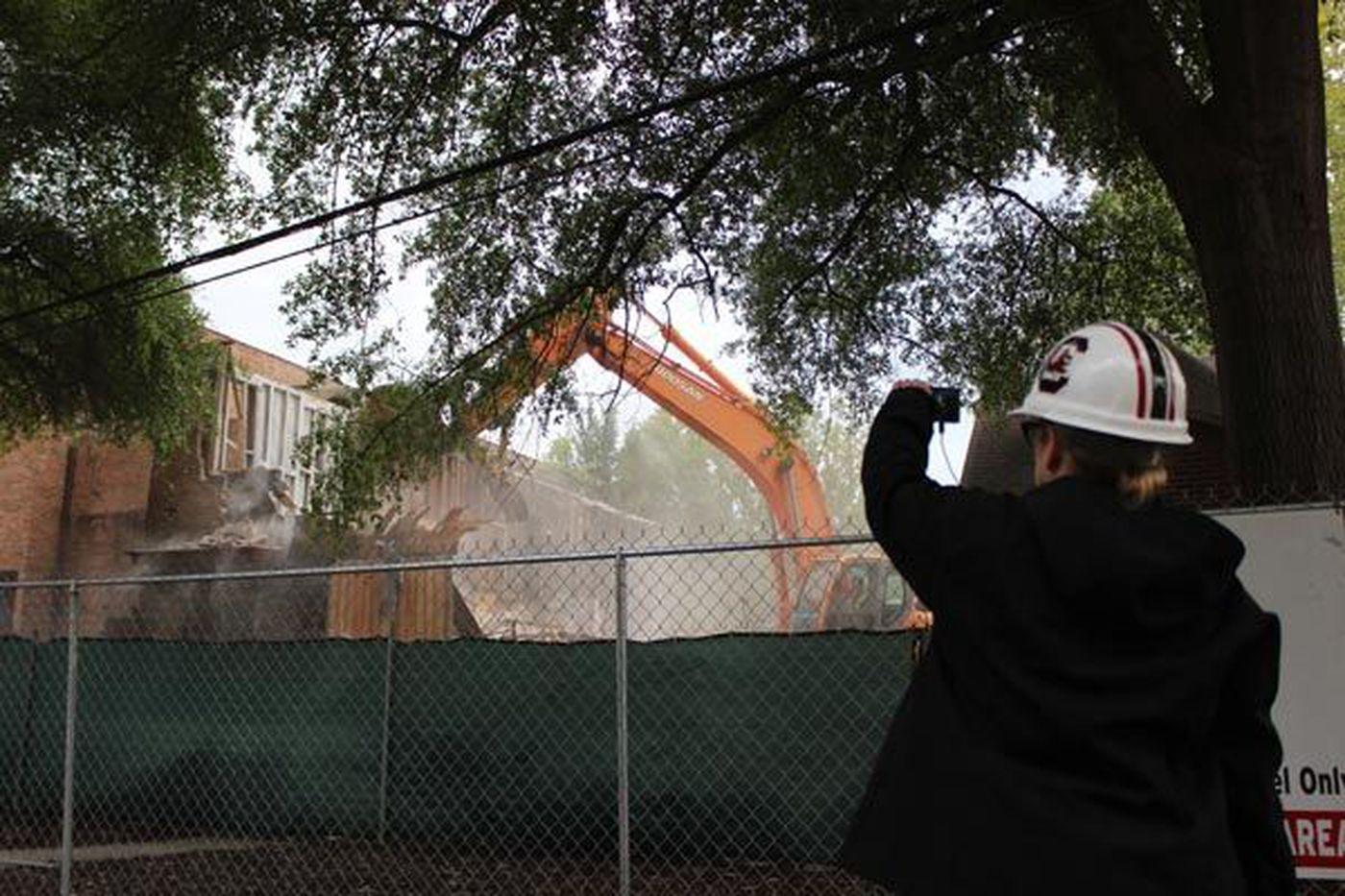 Demolition of Workshop Theatre begins ahead of USC Law School ...
