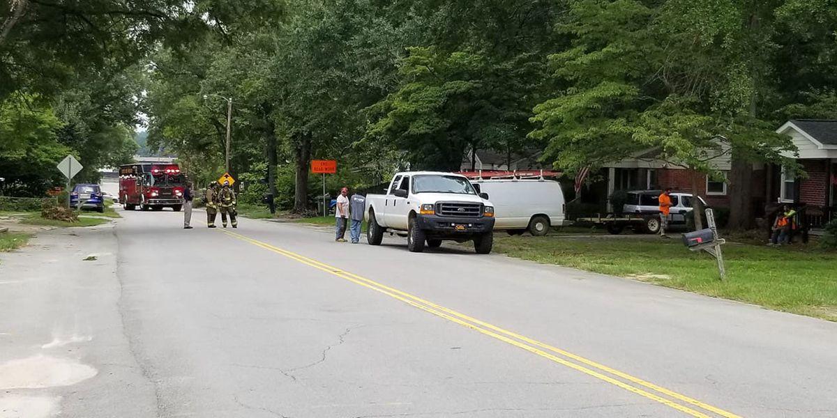 Road closed in Cayce as crews work to repair gas leak