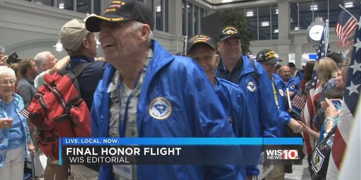 My Take: The end of an era for Honor Flight South Carolina