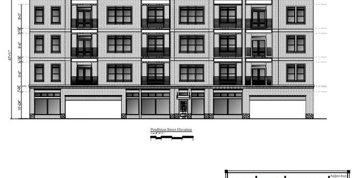 New apartment building proposed for Main Street in Columbia