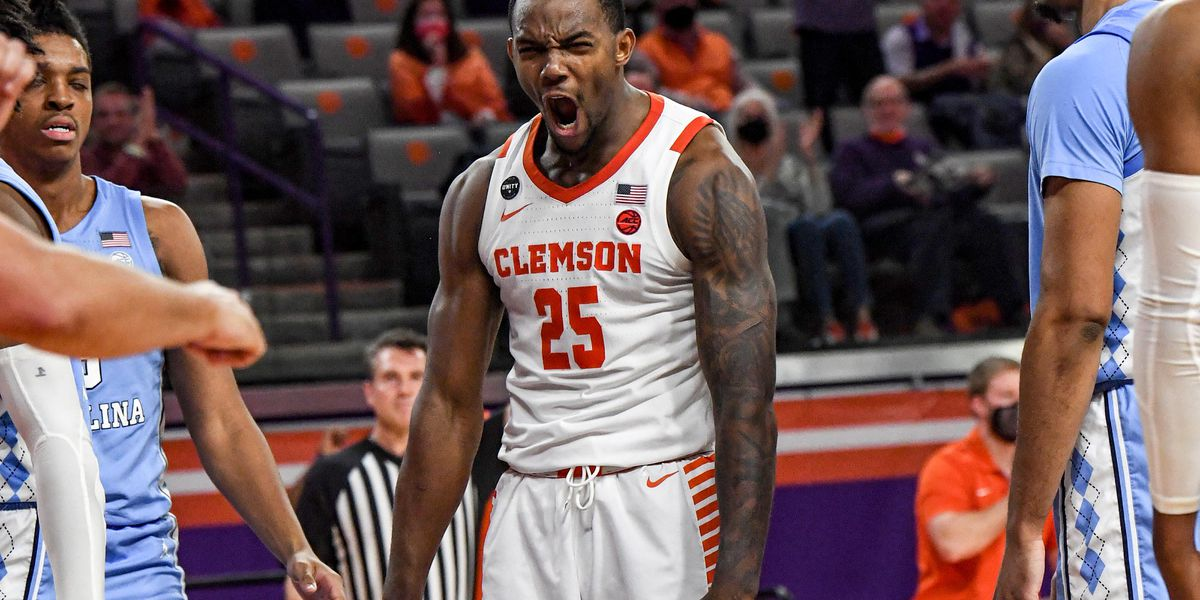 Clemson wins 63-50, ends North Carolina's 3-game win streak