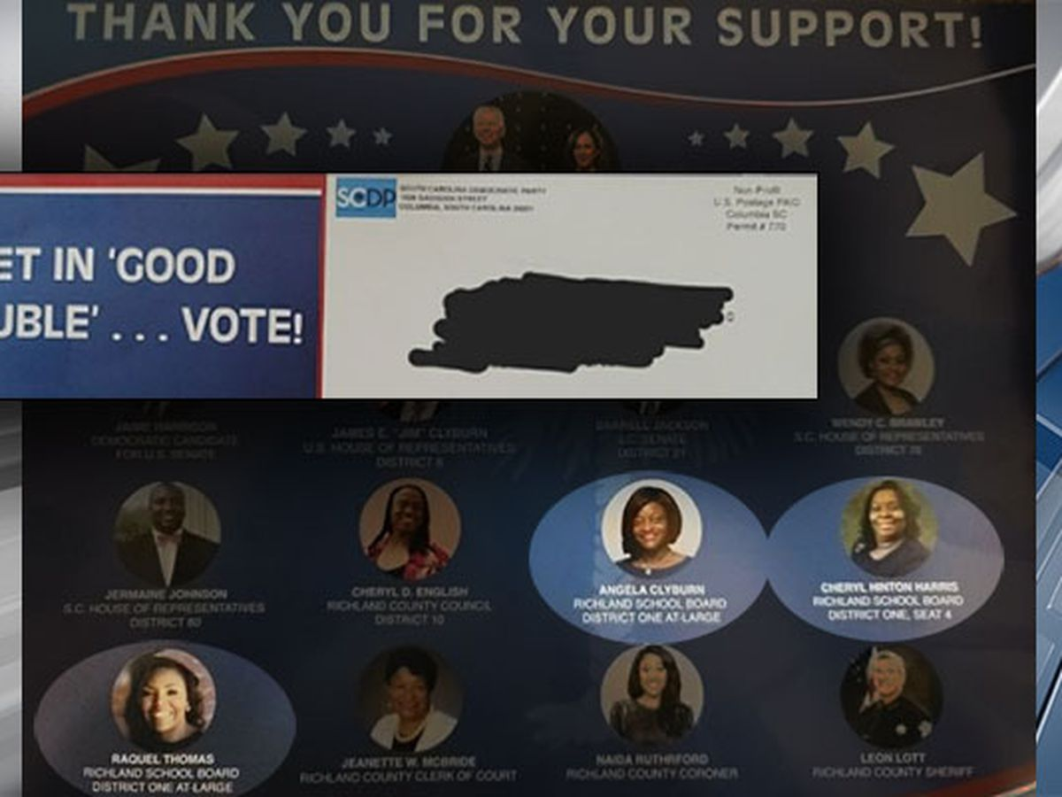Richland One school board candidates frustrated with Democratic mailer