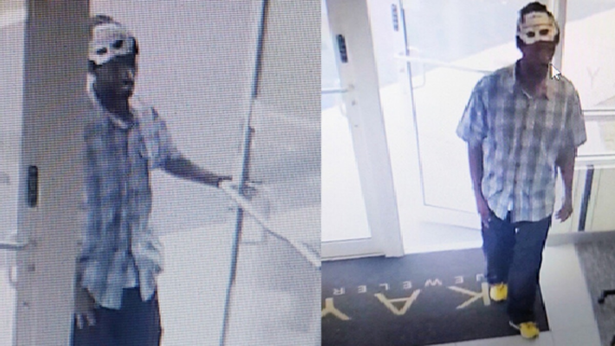 OCSO searching for man who stole bracelets from Kay's Jewelers