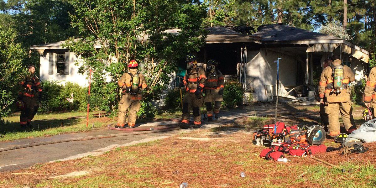 No injuries in West Columbia house fire