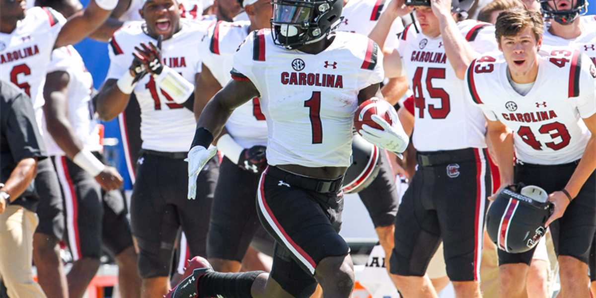 Gamecocks hold off Wolfpack for 35-28 win
