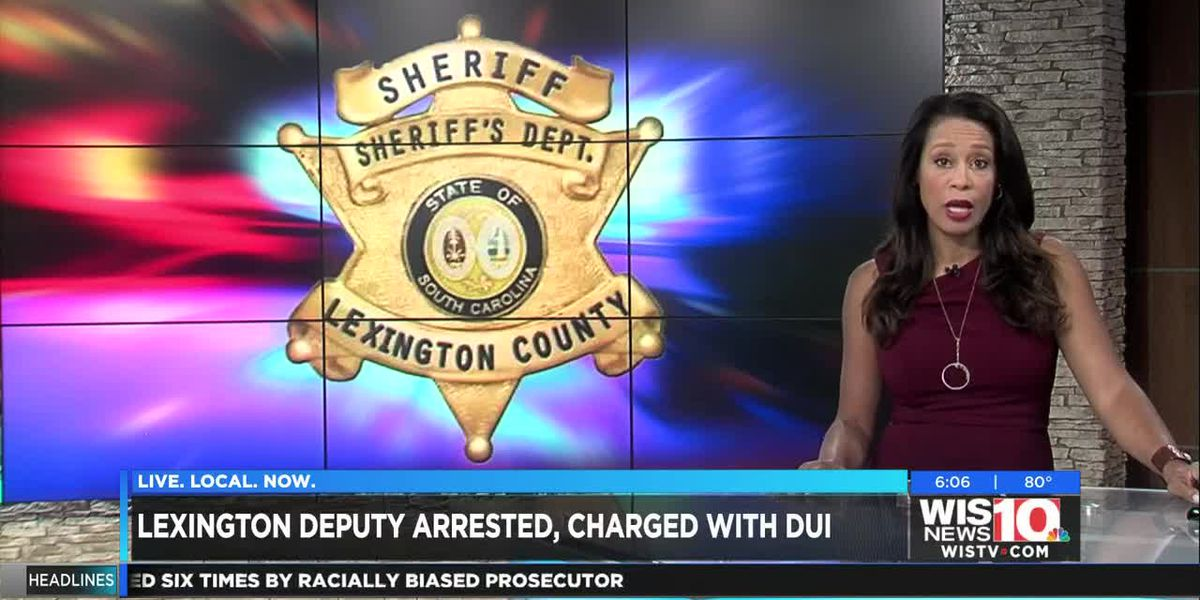 Lexington Co. deputy arrested for DUI, placed on paid leave
