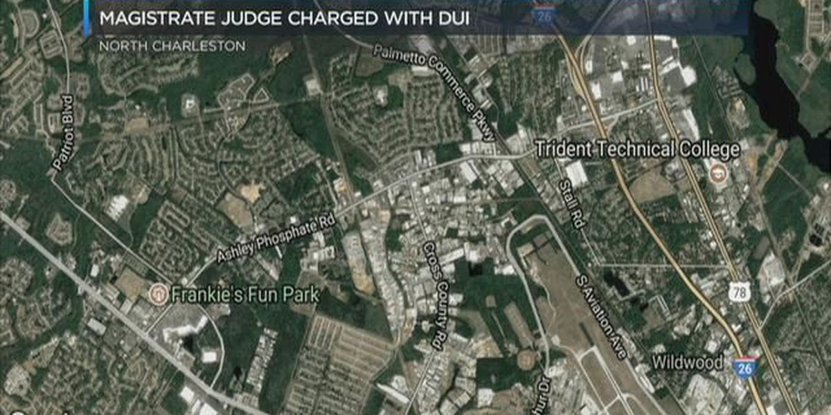 Midlands magistrate charged with DUI following crash in Lowcountry