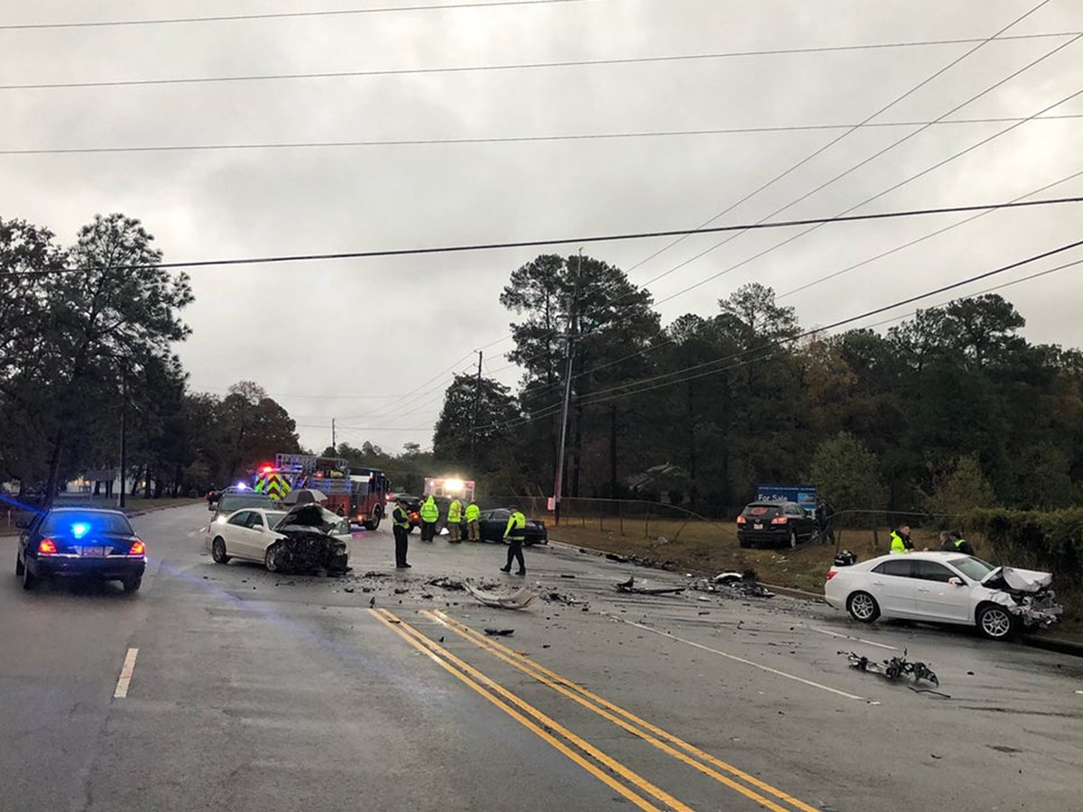 UPDATE: Driver killed in Augusta Rd. collisions identified by coroner's office