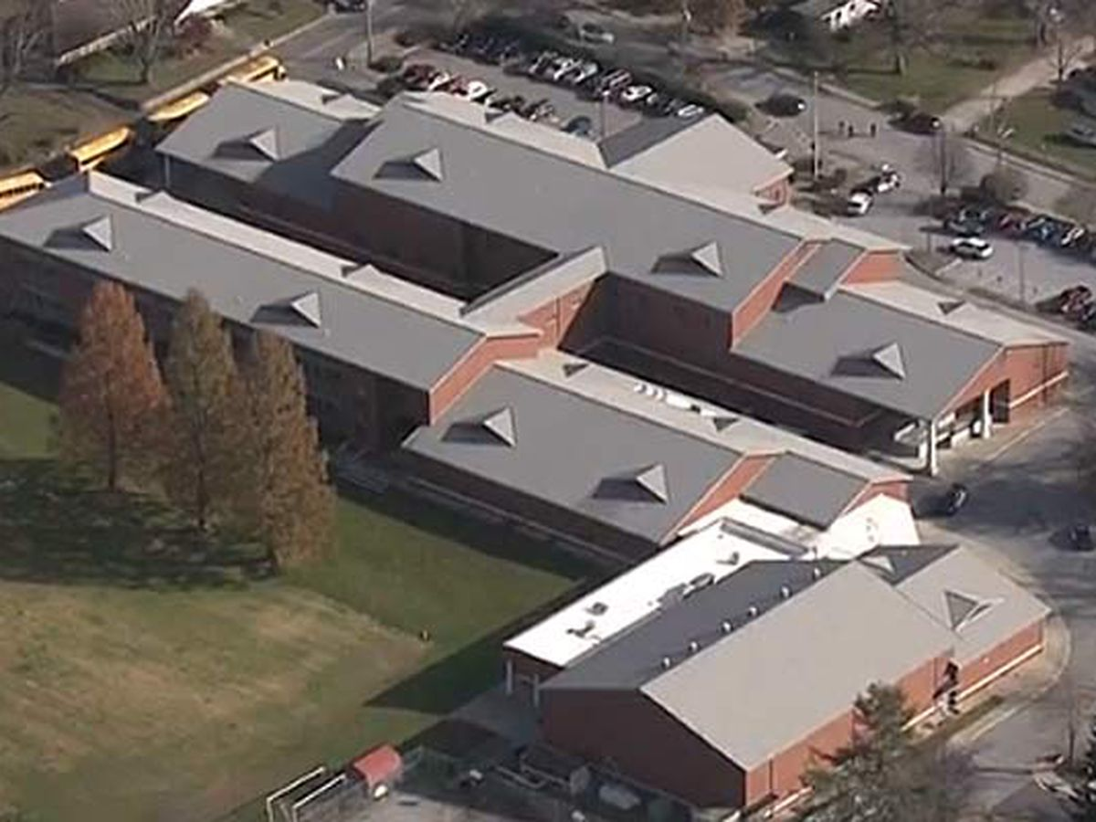 12-year-old girl shot at N.C. middle school; student in custody, district says