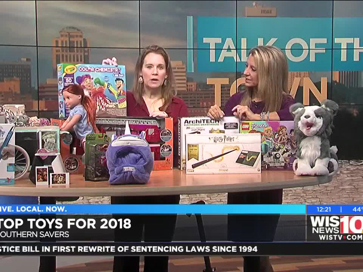Talk of the Town: Top toys for 2018