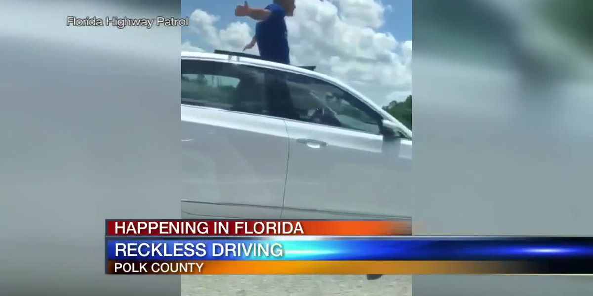 WATCH: FHP arrest 70-year-old man for reckless driving