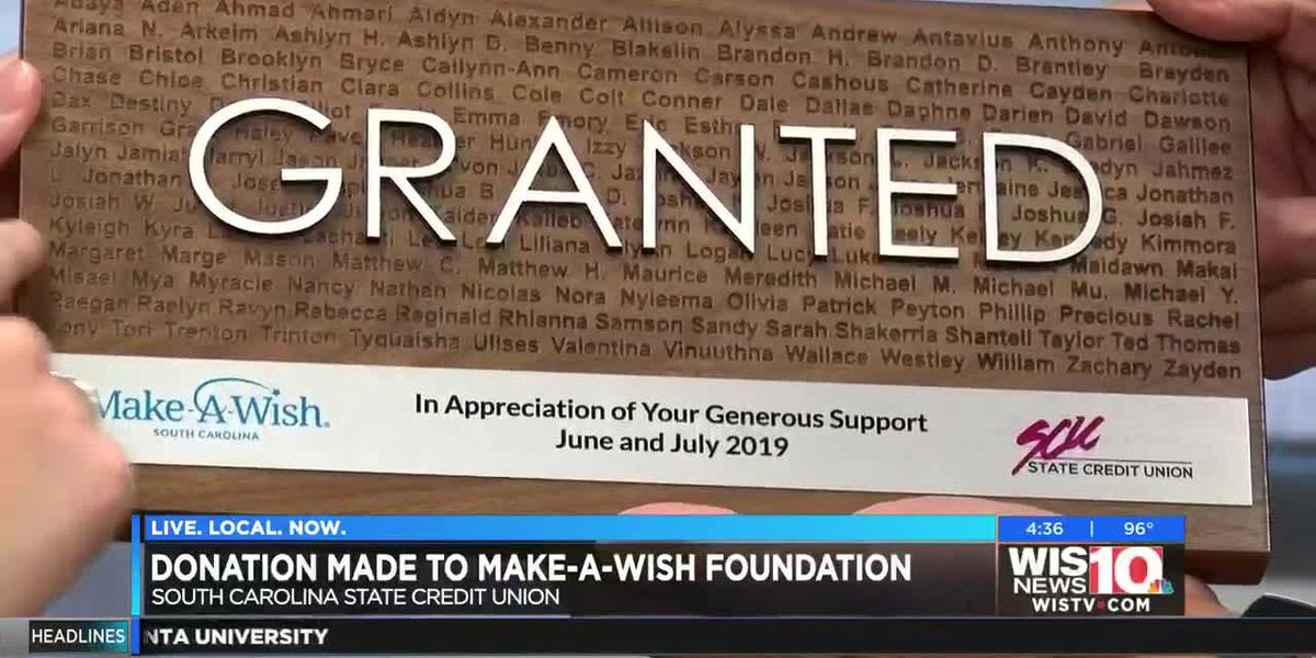 Credit union raises money to help Make-A-Wish Foundation grant wishes