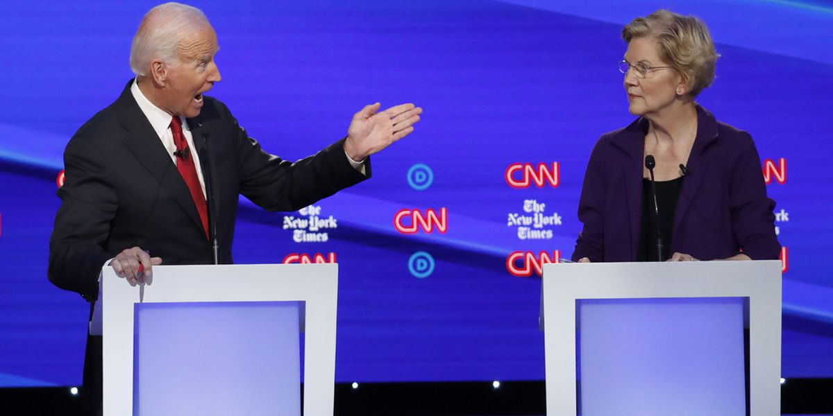 SC voters support for Biden remains strong as candidates focused on Warren in latest debate
