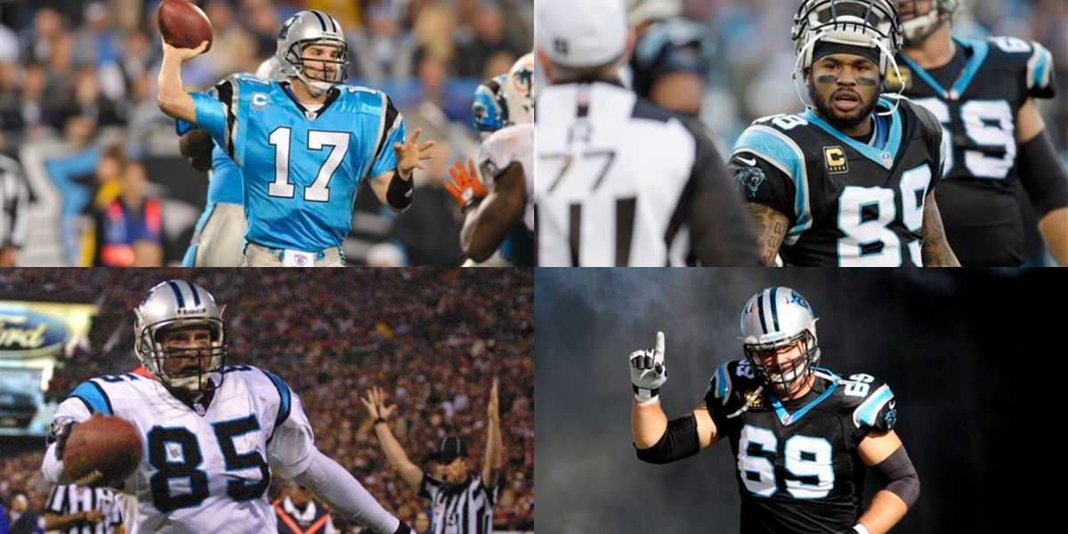 Delhomme, Smith highlight 2019 Panthers' Hall of Honor class