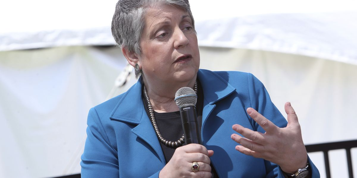University of California chief Janet Napolitano to step down