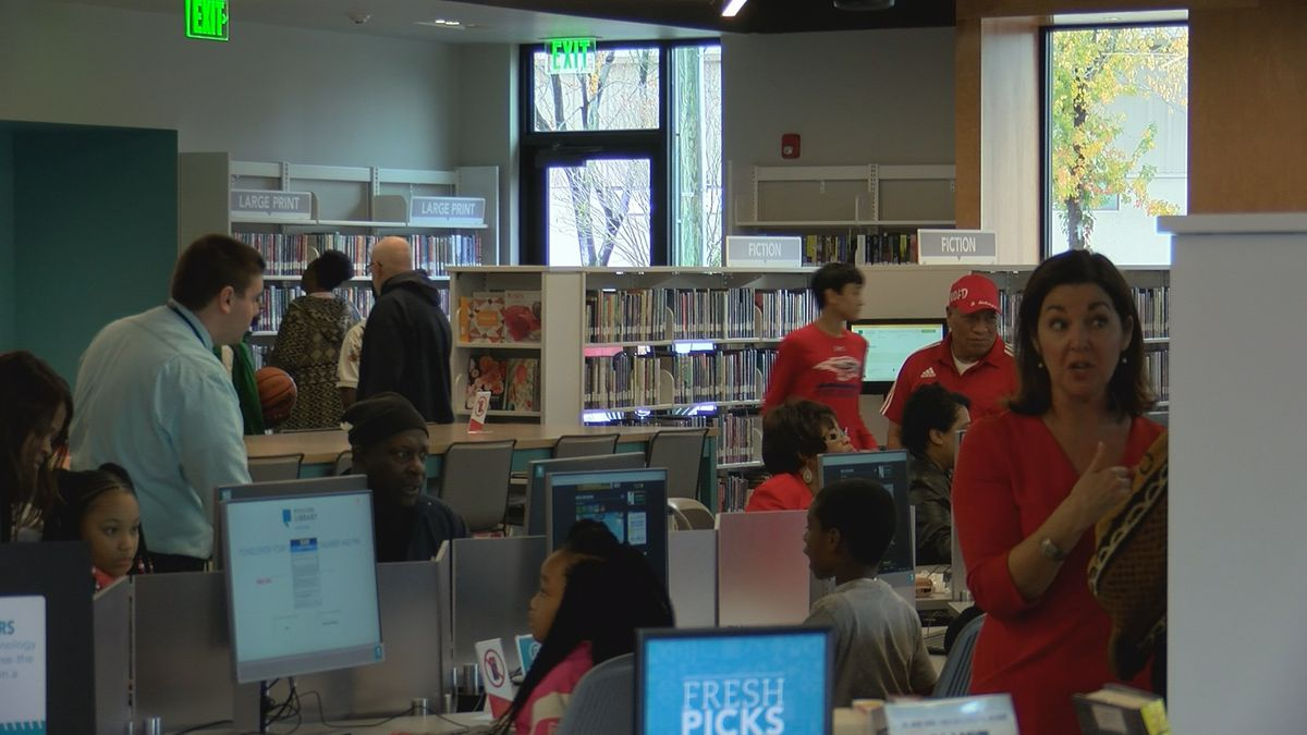 Columbia community regains library after almost 50 years