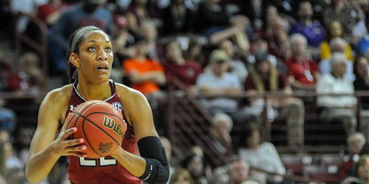 A'ja Wilson named a WNBA All-Star