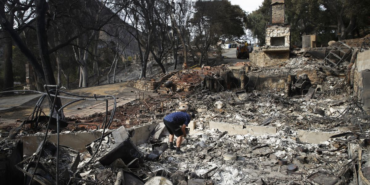 3rd body found in Southern California fire zone