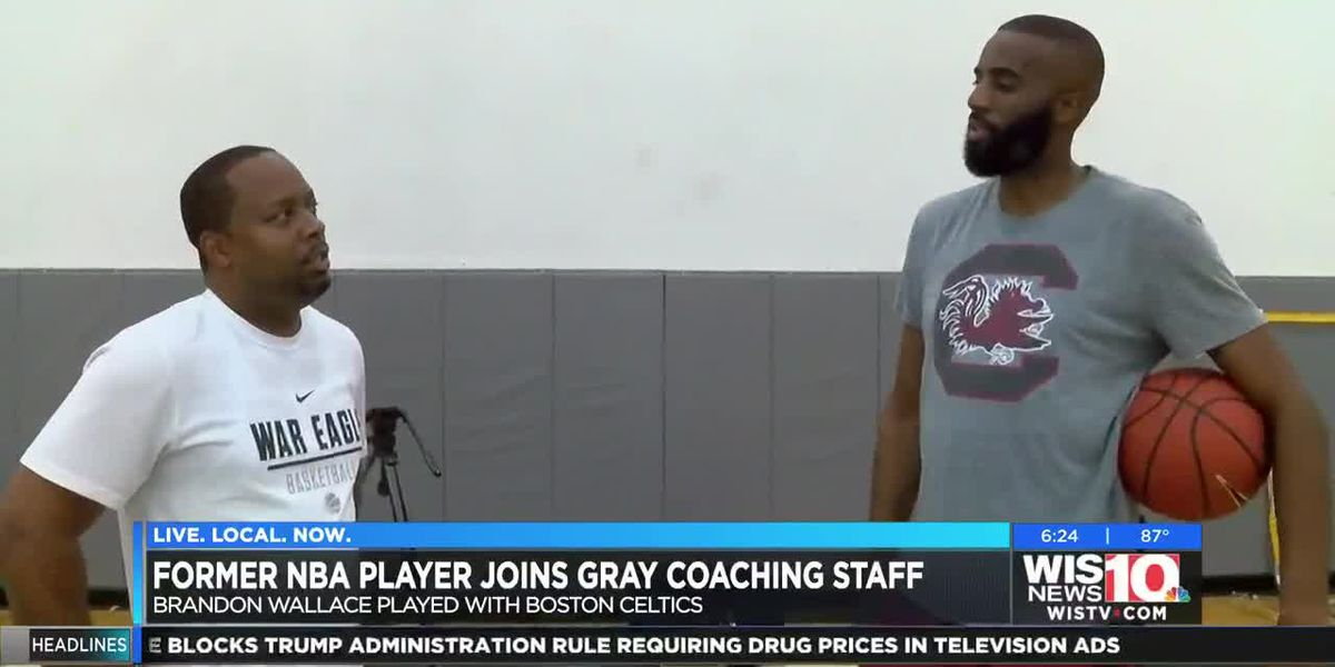 Former Gamecock, NBA player rejoins Gray Collegiate boys' basketball coaching staff