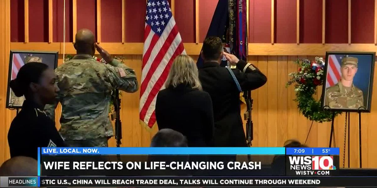 Wife reacts to sentencing of Fort Jackson Drill Sergeant involved in 2017 double fatal accident