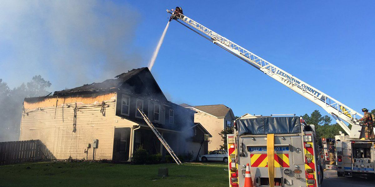 Firefighters called to fire at home in Lexington Co.