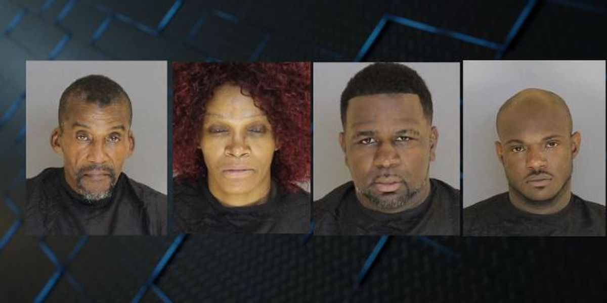 4 arrested, charged after raid on Sumter home nets drugs, cash, and guns