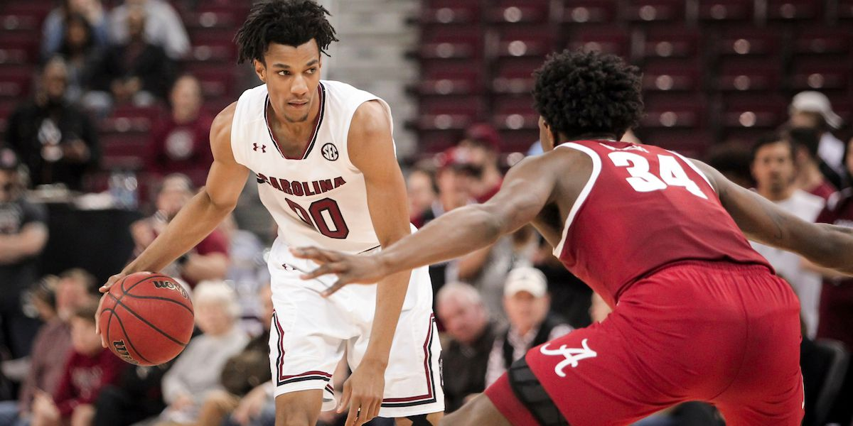 Lawson declares for NBA Draft, is eligible to return to Gamecocks