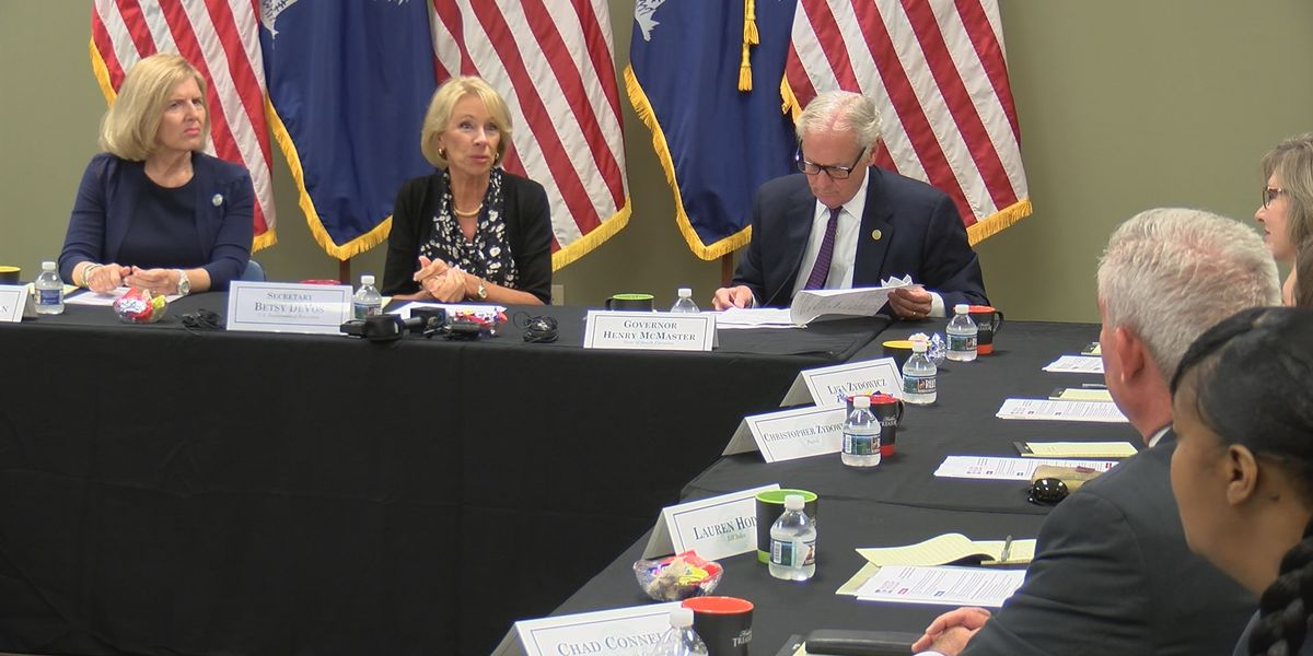 Secretary DeVos drums up support for Education Freedom Scholarships in South Carolina