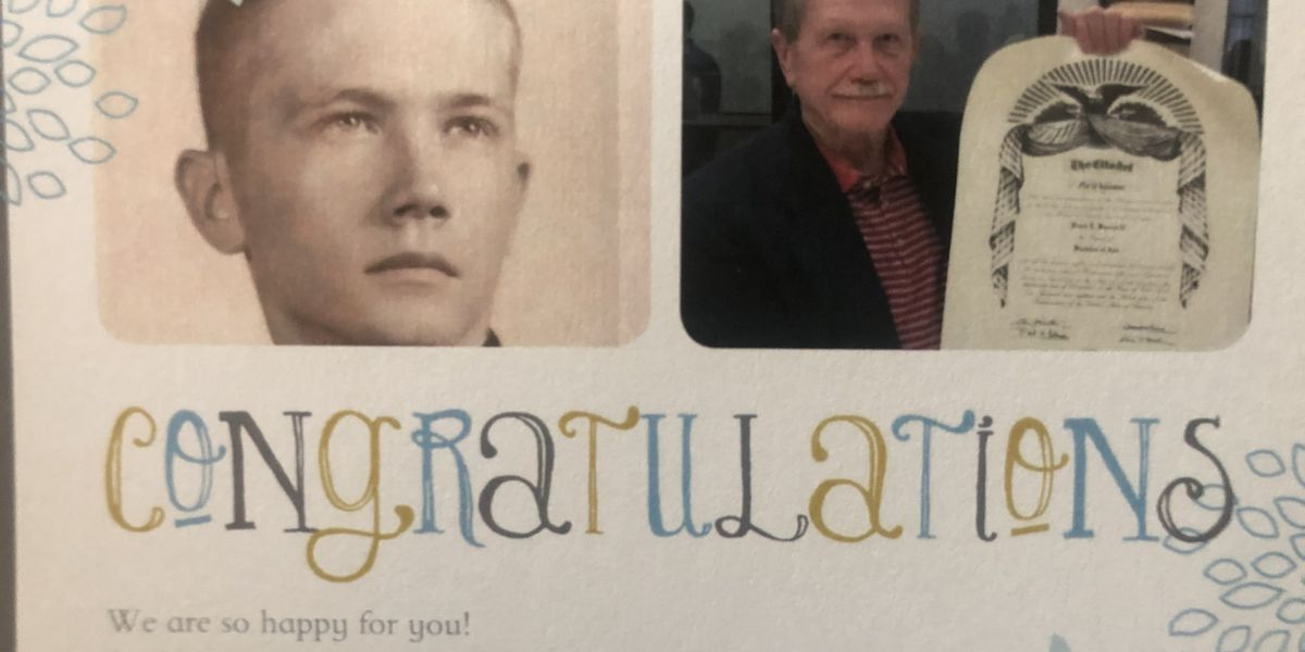 'I fully expected to graduate from The Citadel': 75-year-old SC man becomes college's oldest graduate