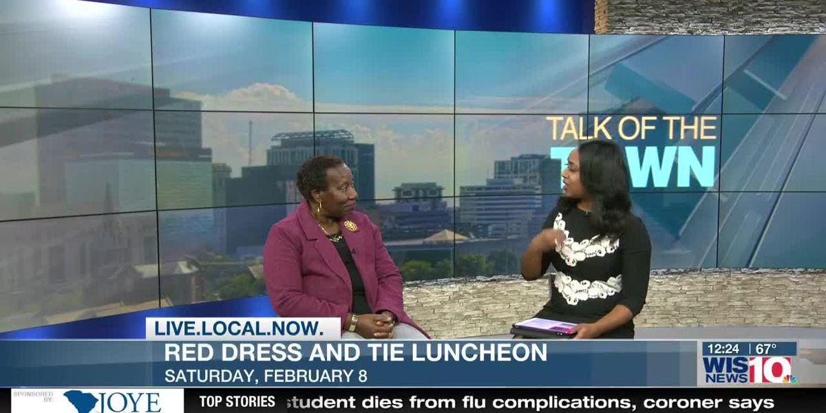 Talk of the Town: Red Dress and Tie Lunch takes place Saturday