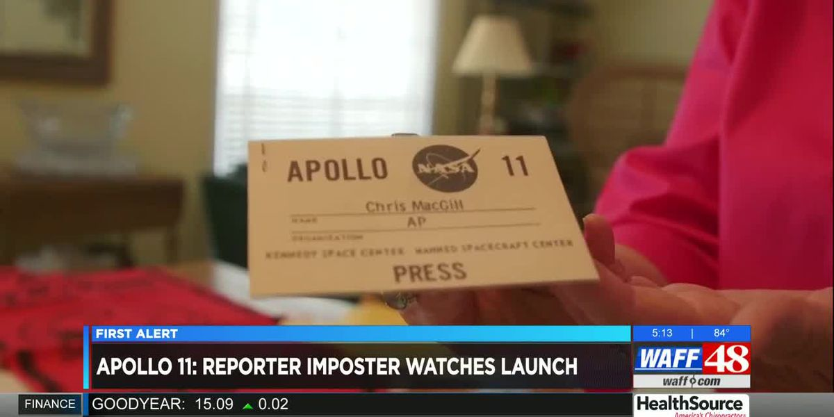 Huntsville woman impersonated reporter to see Apollo 11 launch