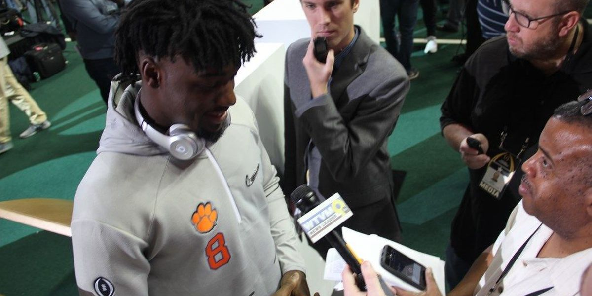 Yearlong journey for Clemson's Cain to end with title game in hometown