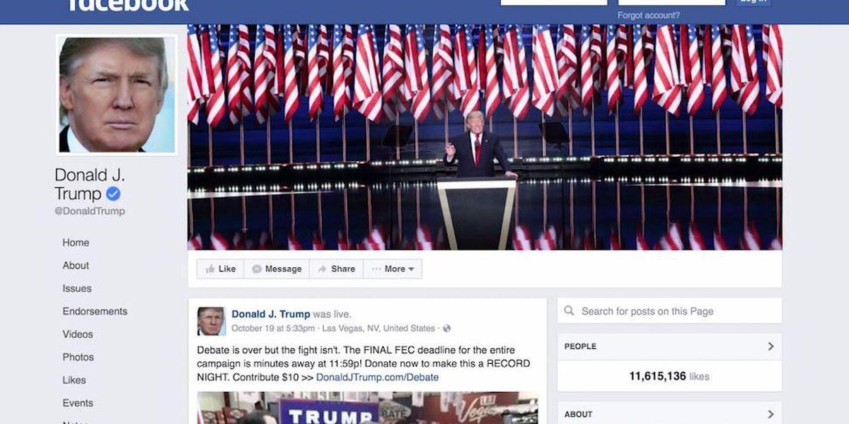 Facebook board upholds Trump's suspension
