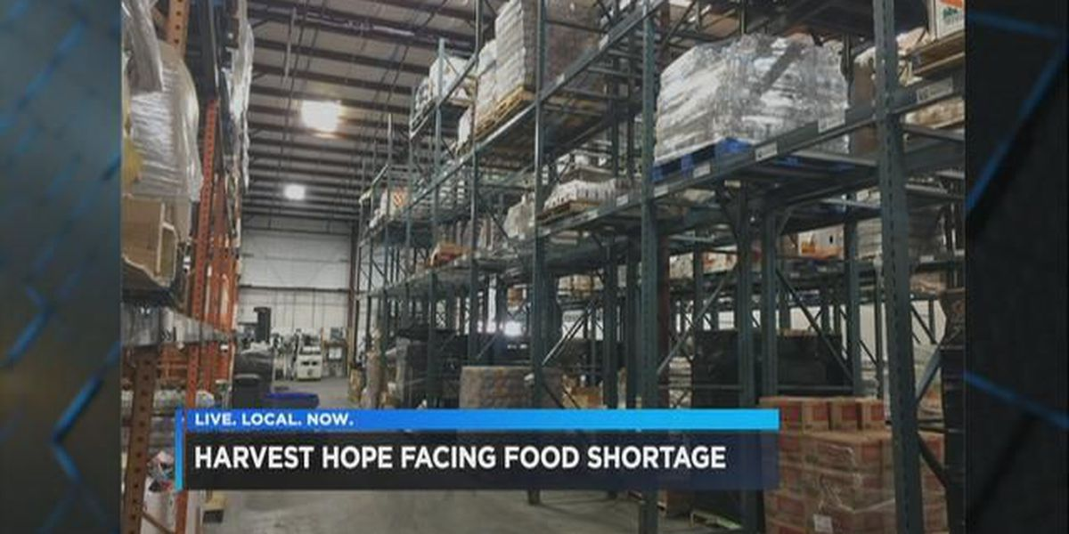 SC's largest food bank is facing severe shortages