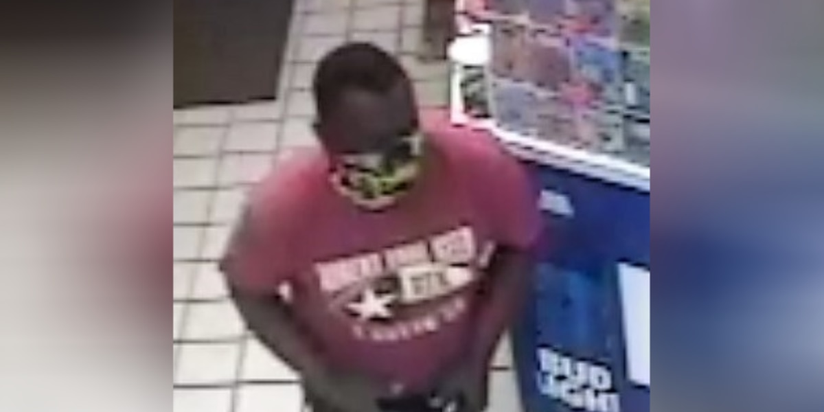 Man wanted in connection with robbery at Sumter gas station