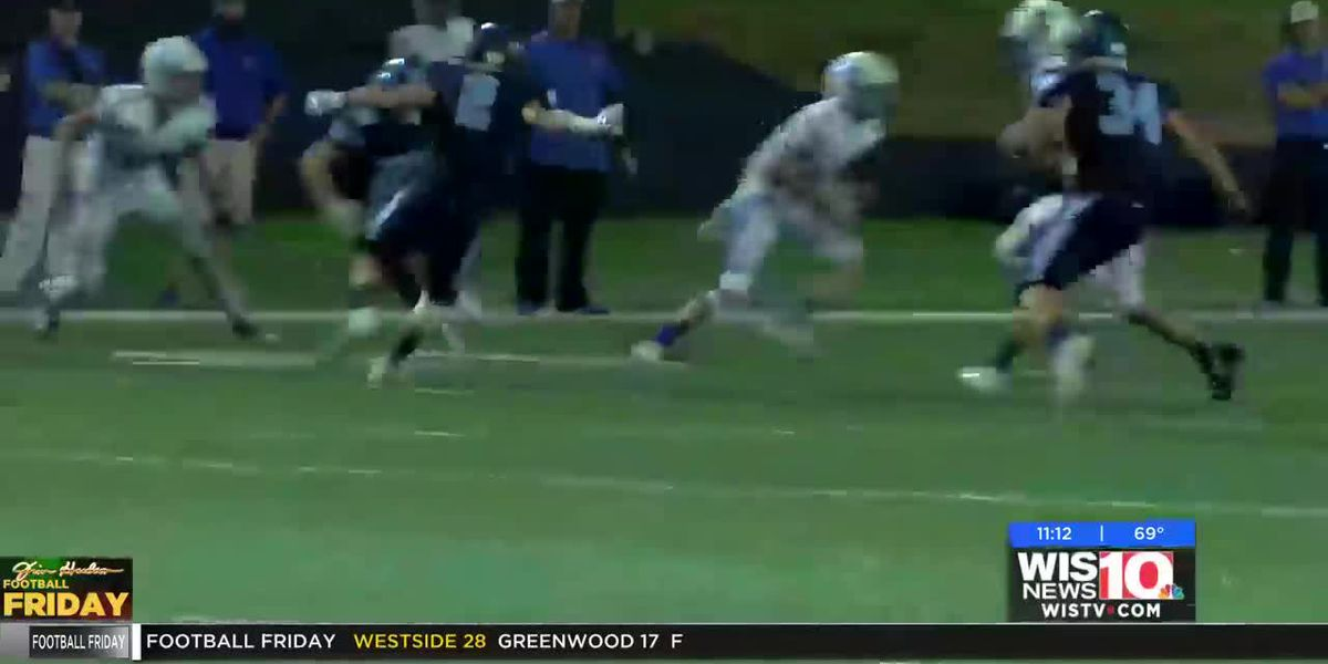 PLAY 2: Lexington pulls off the hook-and-lateral play for the first down